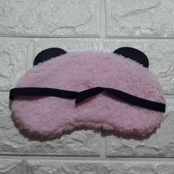 Eye Mask washable in Panda Pink giggling eyes design - 3