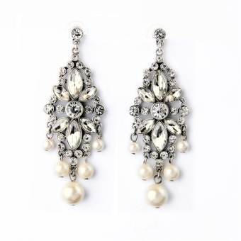 Famous Shishang tassled ol earrings pearl earrings