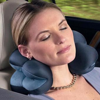 Fancyqube Comfort Total Pillow Travel Pillow Twist Neck Back Head Cushion Relax Gift - intl