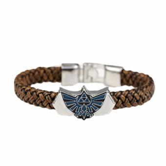 Fancyqube The Legend of Zelda PU Leather Bracelet - intl Price Philippines