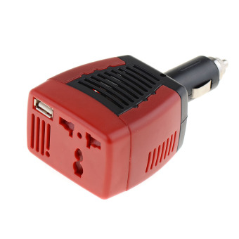 Fancytoy DC TO AC 75W Main Car Power Inverter Converter Charger For Mobile Laptop