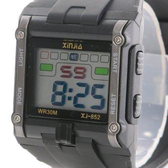 Fashion 30M water resistant big digital wrist watch with back light - 2