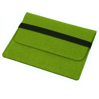 Fashion Solid Clean Case Bag for Tablets PC Air 13 Inch (Green)
