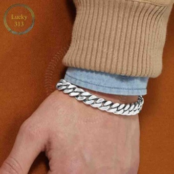 Fashion Stainless Curb Link Chain Bracelet for Men