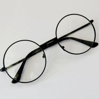 Fashion Unisex Retro Round Circle Eyeglasses Original Clear Lens Eye Glasses