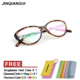 Fashion Vintage Retro Cat Eye Glasses Yellow Frame Glasses Plastic Frames Plain for Myopia Women Eyeglasses Optical Frame Glasses Oculos Femininos Gafas