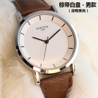 Fashion waterproof couple's watches Korean-style watch