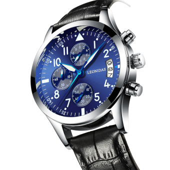 Fashion waterproof multi-functional quartz watch luminous men's watch