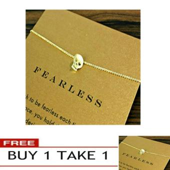 FEARLESS pendant necklace gold dipped Buy 1 Take 1