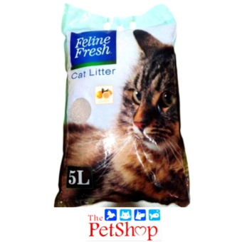 Feline Fresh Cat Liter 5L Lemon Scent