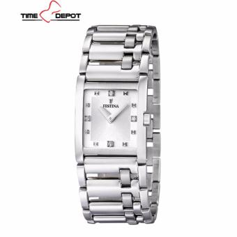 Festina F16550/3 Women's Silver Stainless Steel Analog Watch