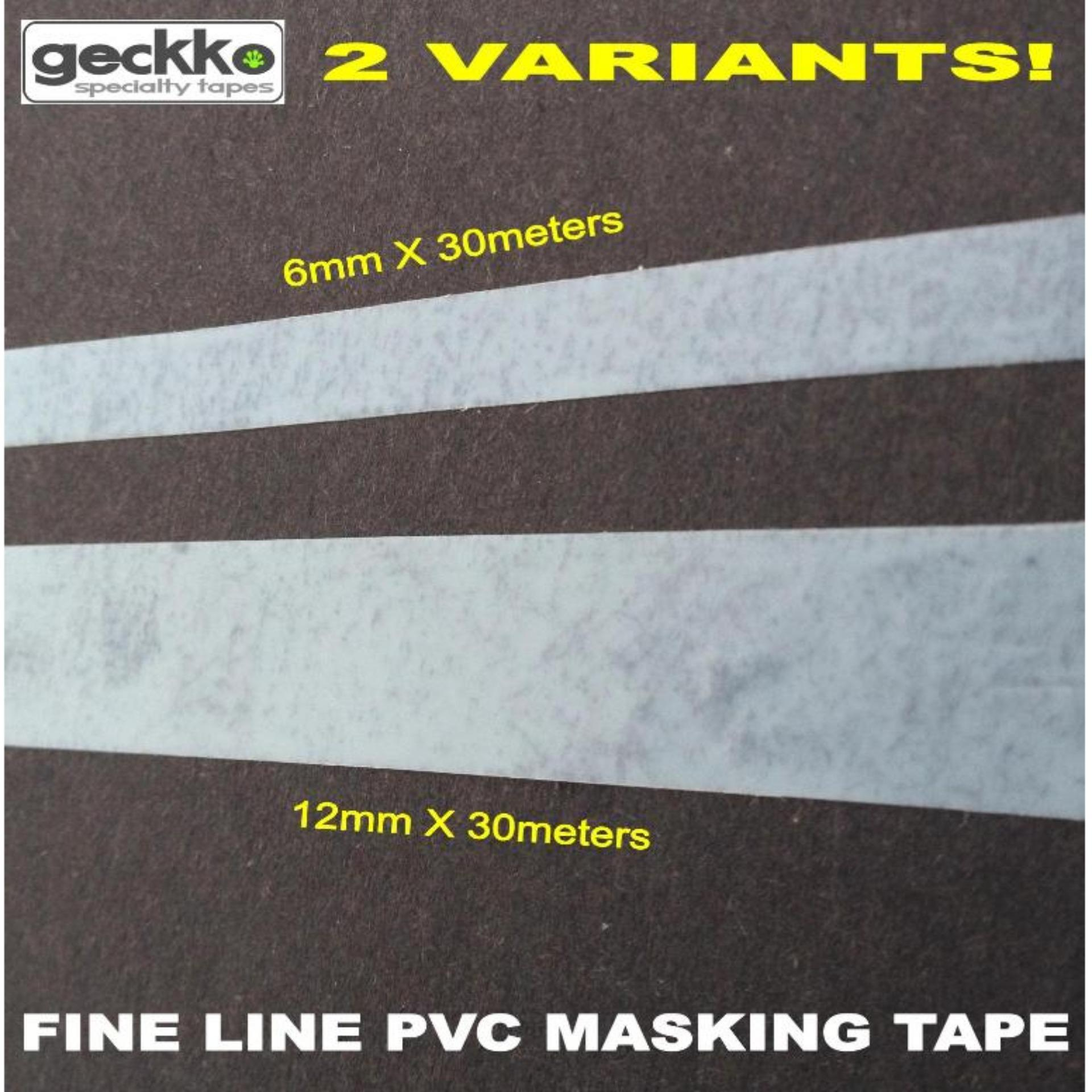 FINE LINE PVC MASKING TAPE by Geckko Specialty Tapes PinstripingPin Stripe Graphics Car Decal Car Art ...