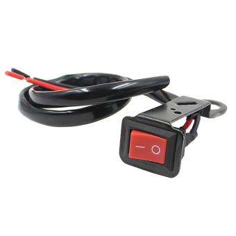 Flameout Switch With Fixed Wiring Harness for Motorcycle Electromobile