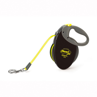 Flexi golden big dog chain retractable leash