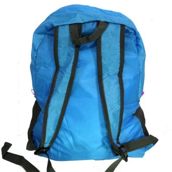 Foldable Bag Pack (Blue) - picture 2