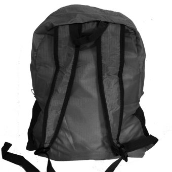 Foldable Bag Pack (Gray) - picture 2