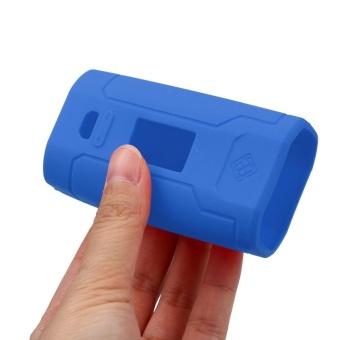 For Predator 228W MOD Box Silicone Case Skin Cover Bag Pocket Blue- intl