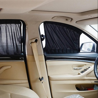 For Side Window Car Styling UV Protection Interior Accessories Car Sun Shade Car Curtains - intl Price Philippines