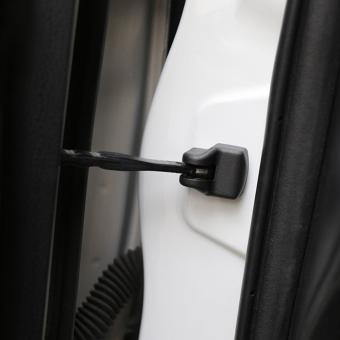 For Toyota Corolla Prius RAV4 Camry Reiz Venza Highlander PradoSequoia 4pcs/lot Car door stop waterproof protection cover - Intl - 4