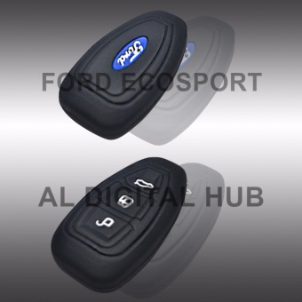 Ford Ecosport Soft Silicon Car Key Remote Holder S-2 (High Quality)