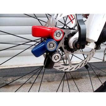 Fortress Motor Motorbike Safety Disc Lock Wheel Protection AntiThefT Black Price Philippines