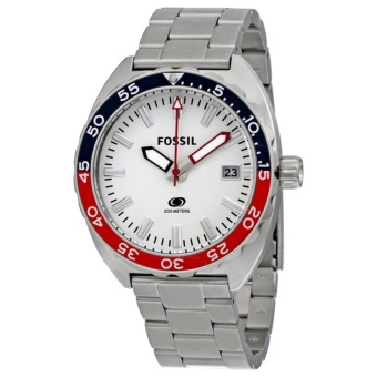 Fossil Breaker White Dial Stainless Steel Men's Watch FS5049 Price Philippines