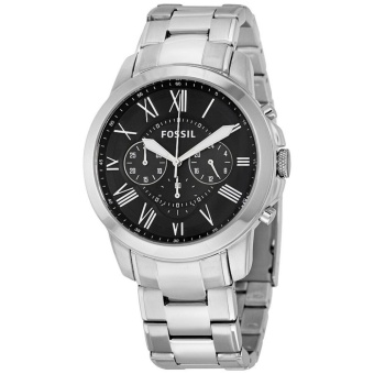 Fossil Grant Chronograph Black Dial Stainless Steel Men's WatchFS4736 Price Philippines