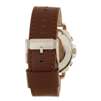 Fossil Privateer Men's Brown Leather Strap Watch BQ1732 - 3