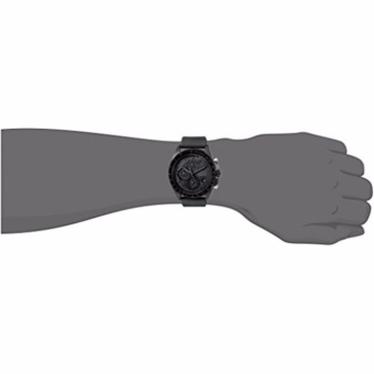 Fossil Sport 54 Chronograph Black Dial Black Rubber Strap Men's Watch CH3080 - 4