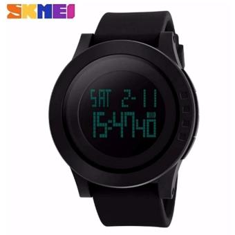 Freebang SKMEI Brand Men Sports Watches Mens Fashion Casual LED Digital Watch Relogio Masculino Military Waterproof Wristwatches 1142 - Intl (Black)