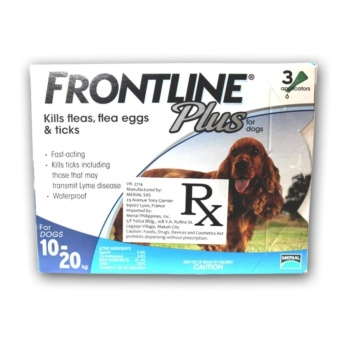 Frontline Spot On Plus Tick and Flea for Dogs (10-20kg)