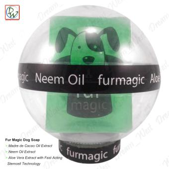 Fur Magic Dog Soap Madre de Cacao Oil & Neem Oil Extract(Green)