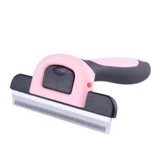 Furminator Deshedding Brush Tool for Dog / Cat L Pink - intl - 2