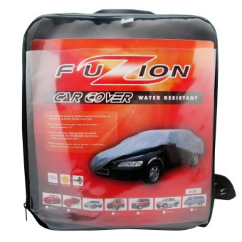 Fuzion FCC- WRL Car Cover Large(Gray) Price Philippines