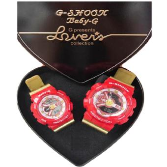 G-shock couple watch (red)