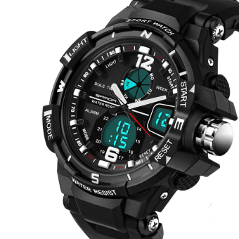 G Style Digital Watch S Shock Men military army Watch water resistant Date Calendar LED Sports Watches relogio masculino - intl
