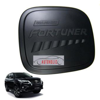 Gas Tank Cover Black for Fortuner 2016-2018 (TRD)