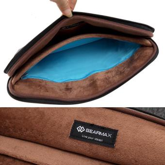 GEARMAX/WIWU Felt Shockproof Laptop Bag Sleeve 15.6 inch Black - intl - 3