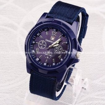 Gemius Army Men's Military Sport Canvas Strap Watch Price Philippines
