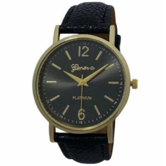 Geneva Classic Bailey Wrist Watch (Black)