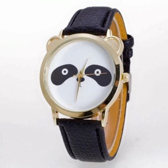 Geneva Cutie Panda Bear Wrist Watch (Black) Price Philippines