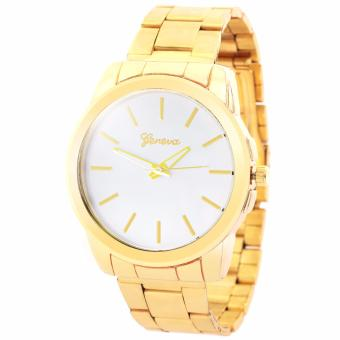 Geneva Elizabeth Women's Stainless Steel Watch