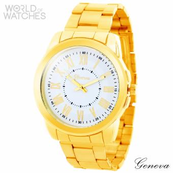 Geneva Karlene Stainless Steel Watch