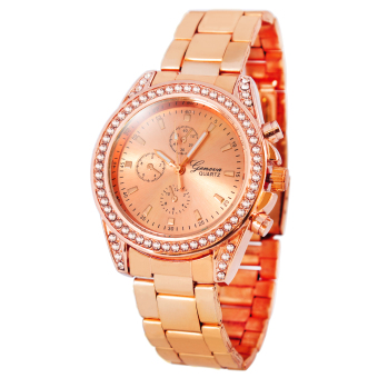 Geneva Miley Stainless Steel Watch BUS102 (Rose Gold) Price Philippines