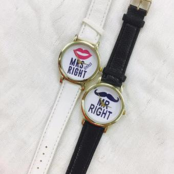 Geneva Mr. Right and Mrs. Always Right Couple Watch - 2