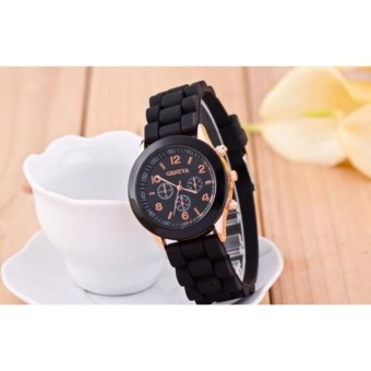 Geneva Nikki Candy Strap Casual Watch (Black) Price Philippines