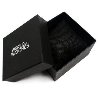 Geneva Victoria Women's Silicone Strap Watch (Mint Green) - 4