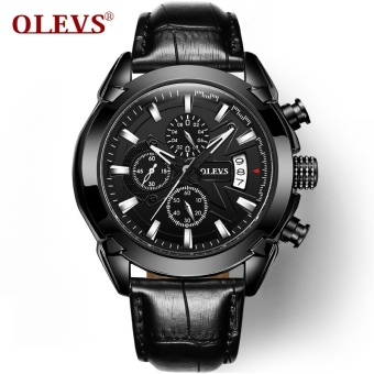 Genuine Automatic Watch OEVS Brand Men Calendar Display Quartz Auto Date Male Watches Water Resistant Sports Diver Wristwatch - intl - 2