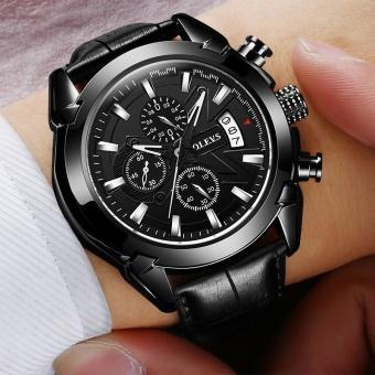 Genuine Automatic Watch OEVS Brand Men Calendar Display Quartz Auto Date Male Watches Water Resistant Sports Diver Wristwatch - intl - 4