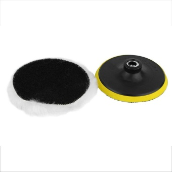 Gift 5 Inch Polishing Sponge Pad M10 Drill Adapter Kit For Car AutoPolisher 5Pcs - intl - 4